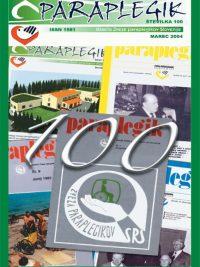 Paraplegik št. 100 - marec 2004