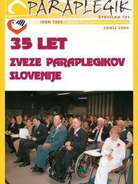 Paraplegik št. 101 - junij 2004