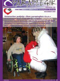 Paraplegik št. 105 - december 2005