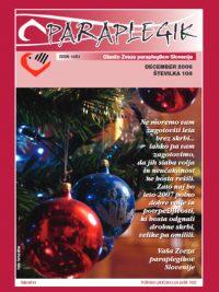 Paraplegik št. 108 - december 2006