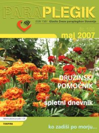 Paraplegik št. 109 - maj 2007