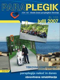 Paraplegik št. 110 - julij 2007