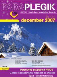 Paraolegik št. 111 - december 2007