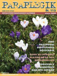 Paraplegik št. 112 - marec 2008