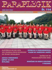 Paraplegik št. 114 - september 2008