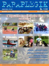 Paraplegik št. 119 - december 2009