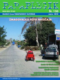 Paraplegik št. 120 - marec 2010