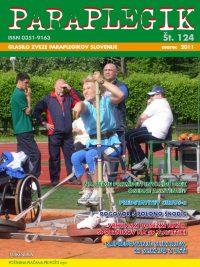 Paraplegik št. 124 - marec 2011