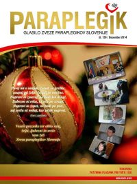 Paraplegik št. 139 - december 2014