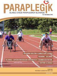 Paraplegik št. 142 - oktober 2015