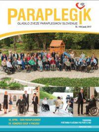 Paraplegik št. 149 - junij 2017