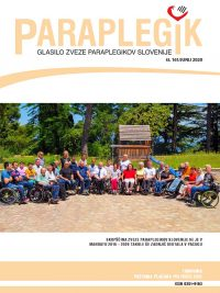 Paraplegik št. 161 - junij 2020