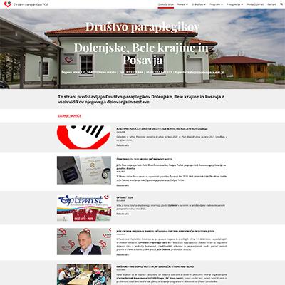 Društvo paraplegikov Dolenjske, Bele krajine in Posavja